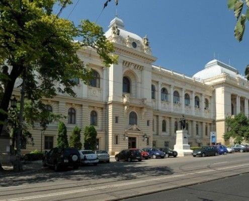 University of Pharmacy in Iasi Romania