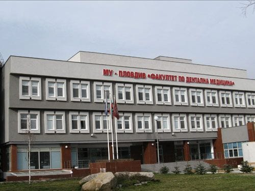 Plovdiv Medical University of Dentistry in Plovdiv, Bulgaria